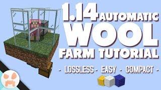 EASY AUTOMATIC WOOL FARM TUTORIAL | 1.14 Sheep Farm
