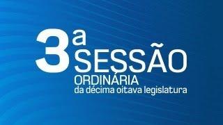03ª Sessão Ordinária da Décima Oitava Legislatura