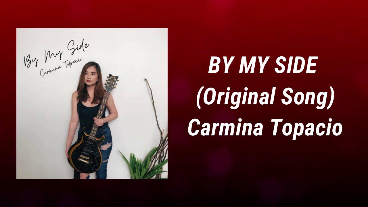 "Lyric video for Carmina Topacio's single ""By My Side"""