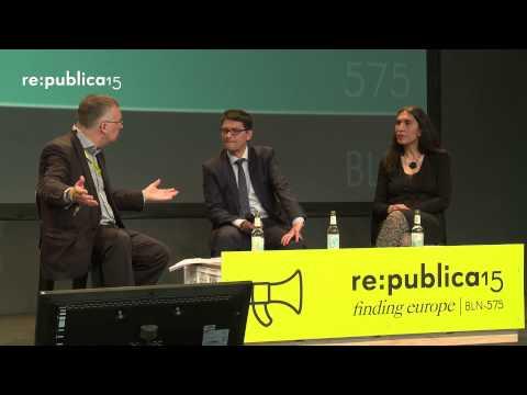 re:publica 2015 - #JeSuisCharlie – eine Reformagenda für die europäischen Nachrichtendienste? on YouTube