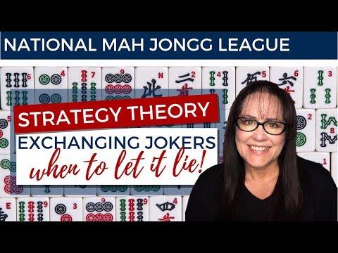 National Mah Jongg League Strategy Theory Consecutive Run 20190525
