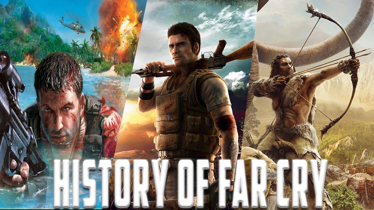 History Of Far Cry 2004 2016 Youtube