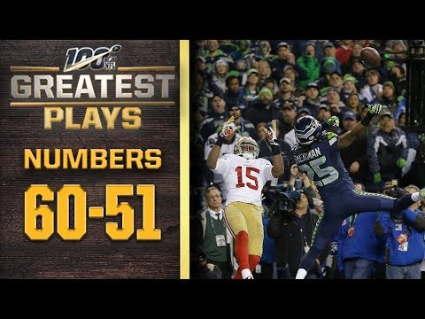 100 Greatest Plays: Numbers 60-51 | NFL 100