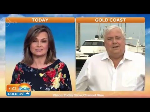 Clive is no joke: Lisa Wilkinson & Clive Palmer clash over PUP's role