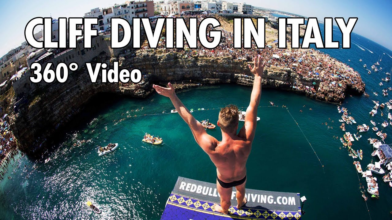 cliff-diving-from-a-rocky-ledge-in-italy-360-video-4k