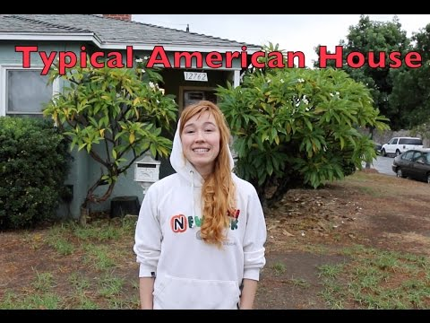 A typical American house