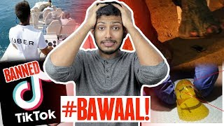 TikTok Ban, Redmi Note 7 REAL Test, Charge with Wifi, Realme 3, Uber Boat, Android Virus #TTM