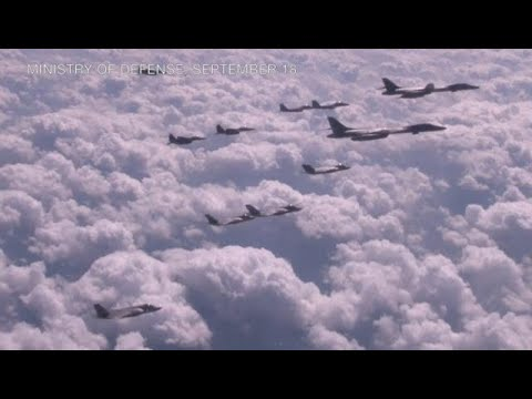 US flies bombers over Korean peninsula for drill--Seoul