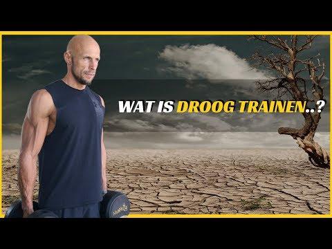 Wat is droogtrainen?