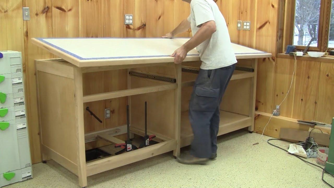 L 39 gosseux d 39 bois ep 111 meuble d 39 eau partie 2 youtube for Vaillancourt meubles