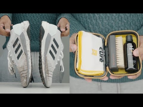 HOW TO CLEAN YOUR RUNNING-SHOE WITH CREP