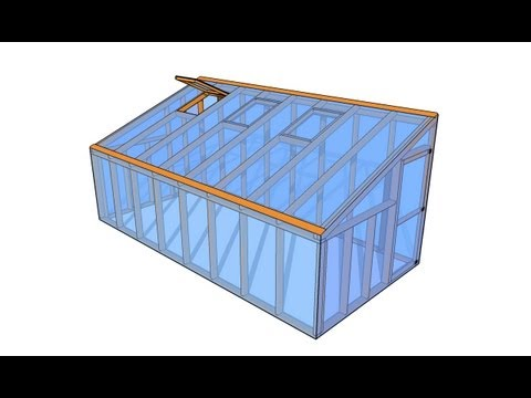Lean-to Greenhouse Plans