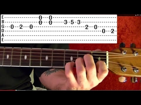 Over the Hills and Far Away Intro by LED ZEPPELIN - Guitar Lesson - Jimmy Page
