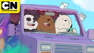 On the Road Song | We Bare Bears | Cartoon Network