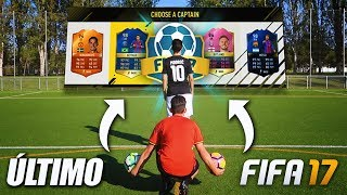 ÚLTIMO FUT DRAFT CHALLENGE EN FIFA 17!!!! FOOTBALL vs FIFA