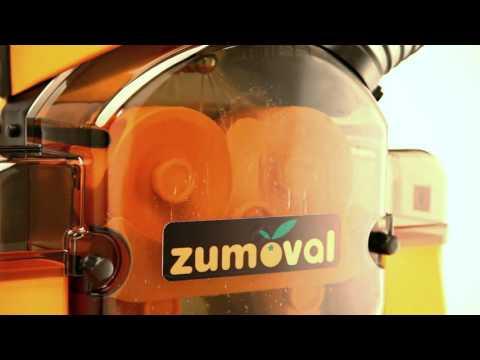 Presse orange avec douche autonettoyante