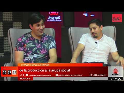 """Ricardo Alvarado En """"Attack Mars"""""""