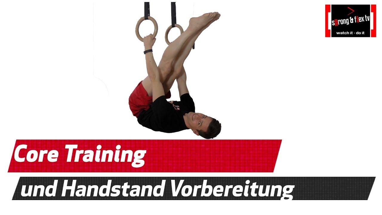 Core Training an den Turnringen - Rumpfmuskulatur aufbauen - YouTube