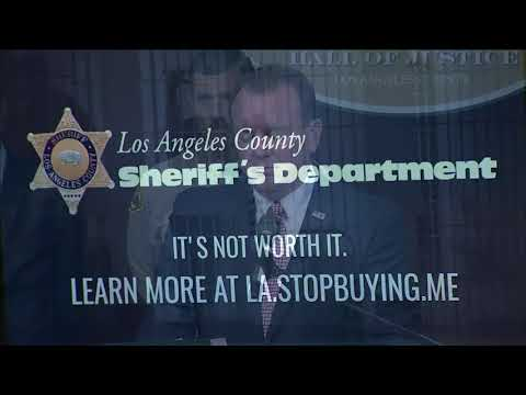 LASD launches new partnership to crack down on online sex trade