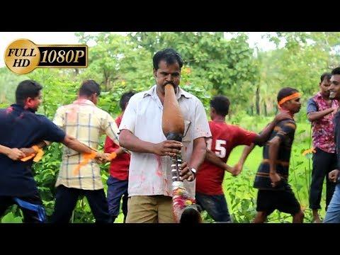 Aadivasi Boys Dahihandi special Tarpa dance at Vasa, Ak Aadivasi Village.