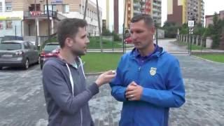 Puchar Polski: Olimpia Zambrów - Arka Gdynia. Wywiady po meczu.