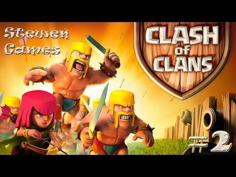 Прохождение игры Clash of Clans (Android) #2 Спустя неделю