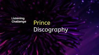 Prince Discography - Intro - Listening Challenge Experience