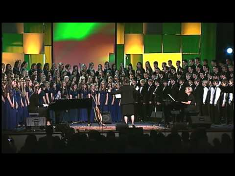 """I'm Goin' Up A Yonder"" - Forest Lake Christian School Combined Choirs"