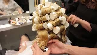 Химическая завивка на обесцвеченные волосы на аппарате Swiss Waver, центр красоты и здоровья Evos