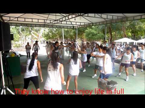 Ginu Azucar Zumba Fitness in Brazil