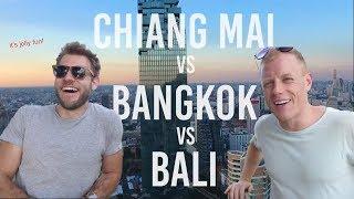 CHIANG MAI vs BALI vs BANGKOK 🌴Living, Cost & Vibe for Digital Nomads – ft. Chris the Freelancer
