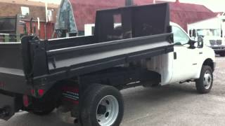 2003 Ford F-550 4x4 Dump Truck For Sale