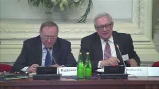 Трехсторонняя конференция Россия-Китай-США #1