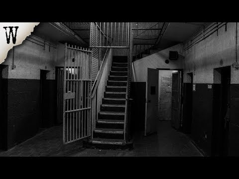 Exploring A HAUNTED JAIL AT NIGHT! (GHOST FOUND IN MORGUE!?)