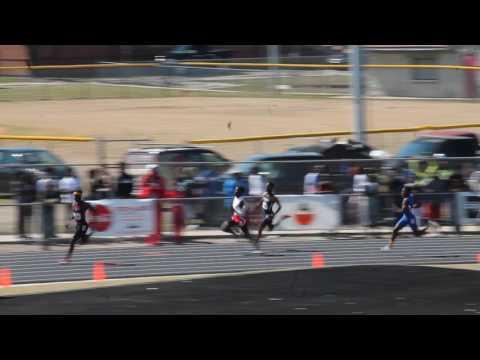Leon High School (Bob Hayes Invitational Jacksonville, Fl.)400M 3-18-17 LEANDER FORBES