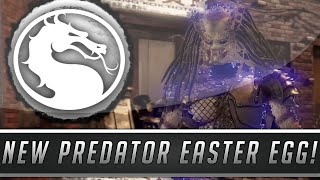 Mortal Kombat X: New Predator Movie Easter Egg - Predator 1987 Film Reference! (Mortal Kombat 10)