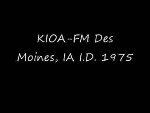 KIOA-FM Des Moines, IA I.D. 1975.wmv