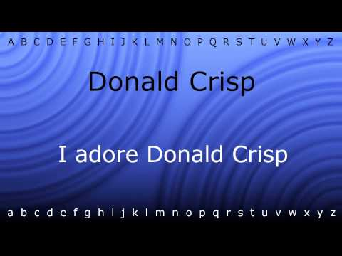 How to say 'Donald Crisp' with Zira.mp4