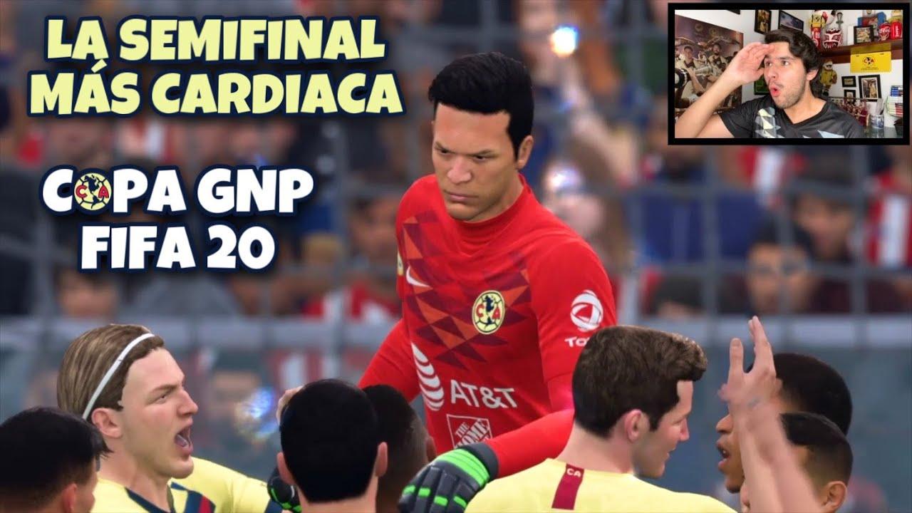 JUGANDO LA SEMIFINAL DE LA COPA GNP CON EL CLUB AMERICA | CAPITULO 15 | MODO CARRERA FIFA 20