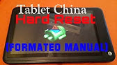 How to Hard Reset China Tablet By Software | Unlock Pattern Lock Via