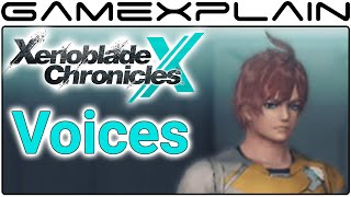 Xenoblade Chronicles X - All English Voice Options for Player Characters
