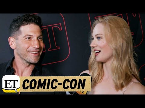 ComicCon 2017: 'Punisher' Stars Jon Bernthal and Deborah Ann Woll Talk 'Daredevil' Spinoff!