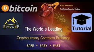 Bityard Exchange Trading Tutorial BITCOIN ₿ & Altcoins