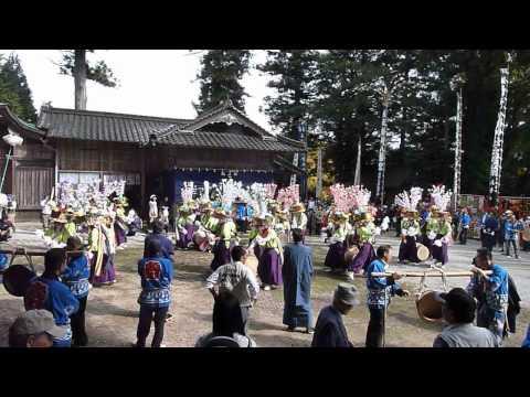 糸崎八幡神社の渡り拍子 - YouTu...