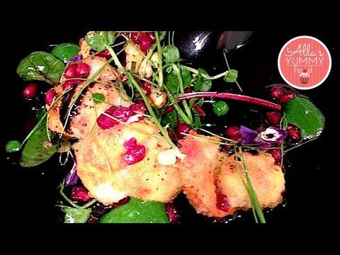 Seared Scallop Salad Recipe - Салат из морских гребешков