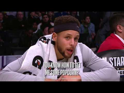 Mic'd Up!  Stephen Curry's Best Wired Moments From the 2018 NBA All Star Game
