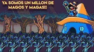 Ya Somos UN MILLÓN de Magos y Magas!! (Demo de Mago YA DISPONIBLE + Concurso: Diseña un Jefe!!)