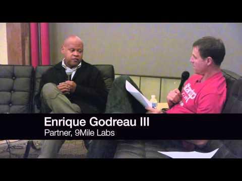 Enrique Godreau III (Partner, 9Mile Labs) at Startup Grind Seattle