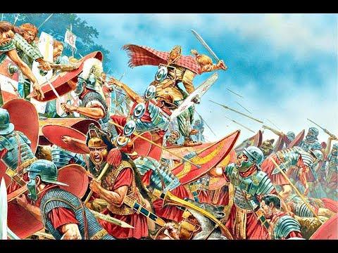 Roman Army Vs Britain! Римские легионеры штурмуют кельтскую крепость.