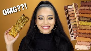 URBAN DECAY NAKED HONEY EYESHADOW PALETTE REVIEW!